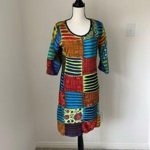 Rising International Boho Dress / Size Small